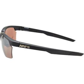 100% Sportcoupe Gafas, negro